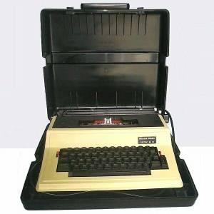 60s Silver-Reed Typewriter