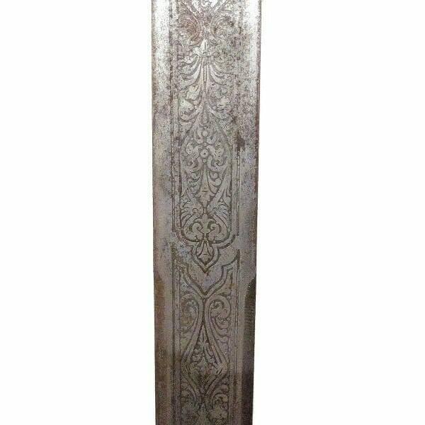 Antique Spanish Sword blade close up