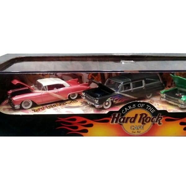 Hard Rock Hot Wheels Set close up 1