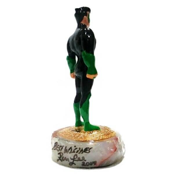 Green Lantern Figurine 2241 side view