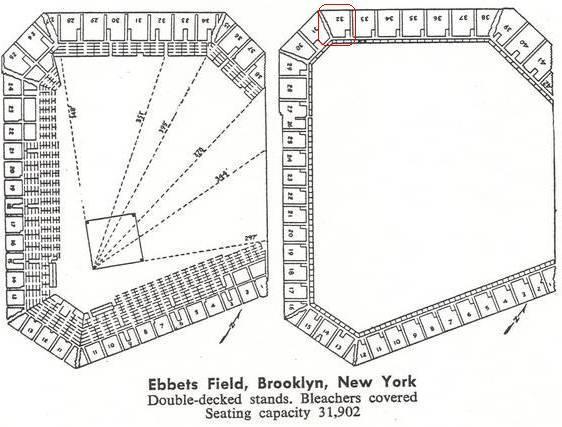 Ebbets Field Seating Diagram. Engine. Auto Parts Catalog
