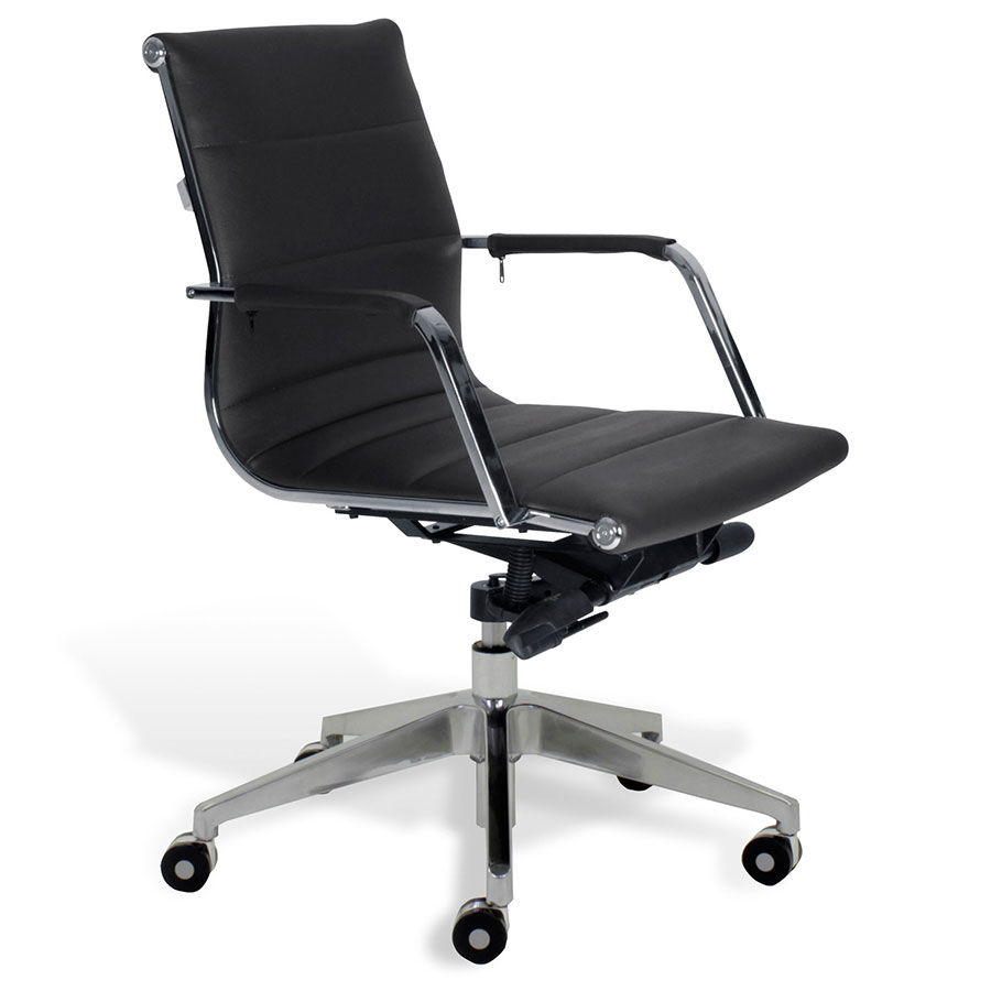 Low Back Office Chair Sofia Low Back Office Chair Black