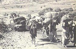 Plus de 700 000 plaestiniens chassés de leurs villages