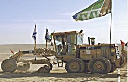 Bulldozer du KKL à la conquête de la terre de Palestine