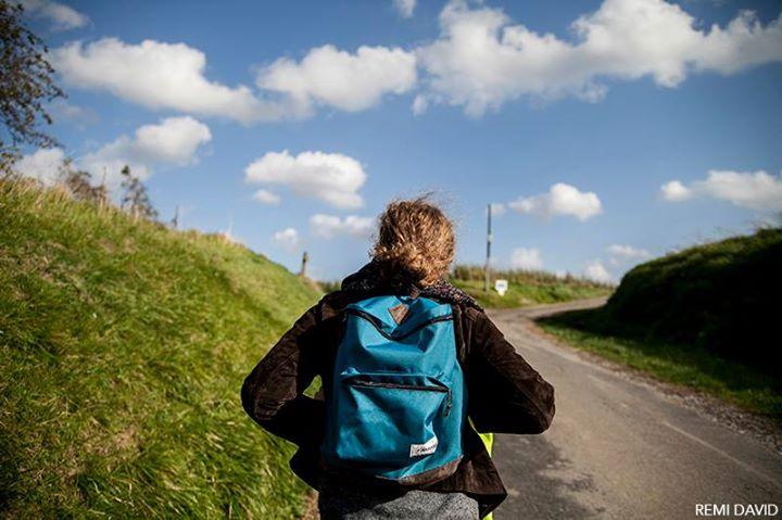 Charlotte Binard, sac à dos, Colembert, campagne