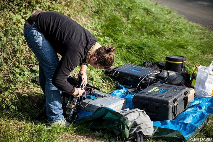 Matériel de cinéma, prises de sons