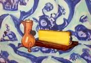 Matisse - Comté sur nappe bleue