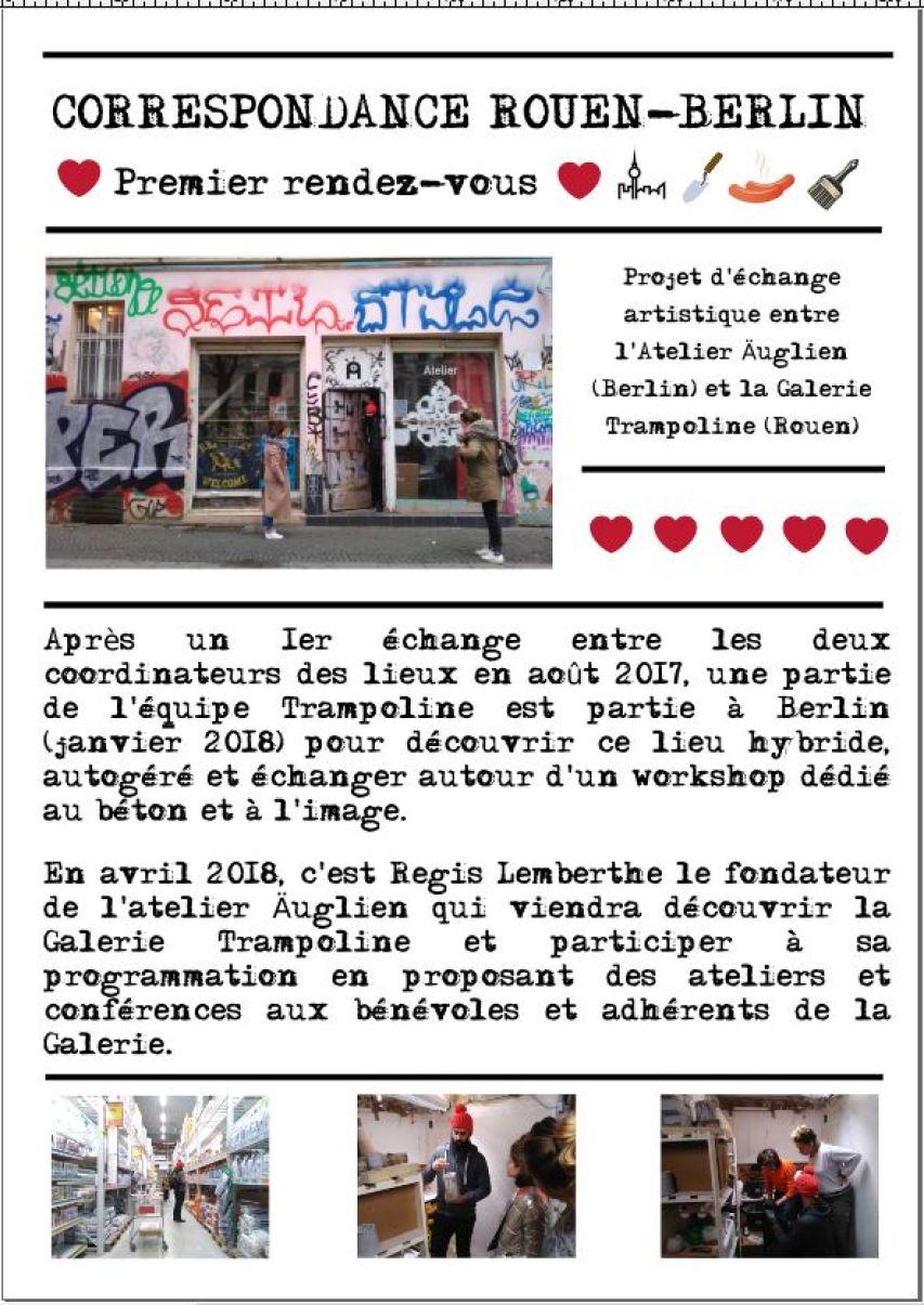 Correspondance Rouen/Berlin