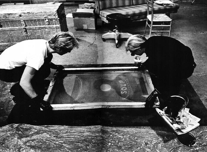 Andy Warhol - Screenprinting - 2