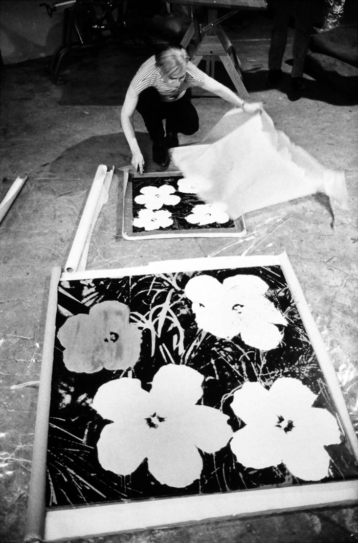 Andy Warhol - Screenprinting