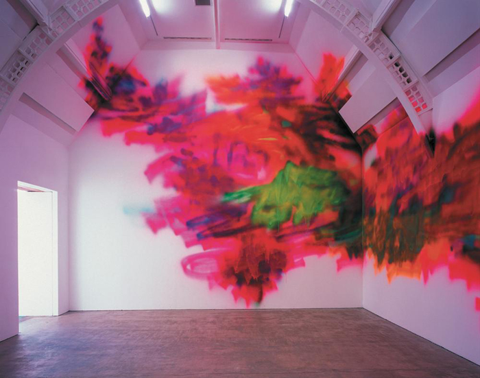 Katharina Grosse - Ikon Gallery - 2002