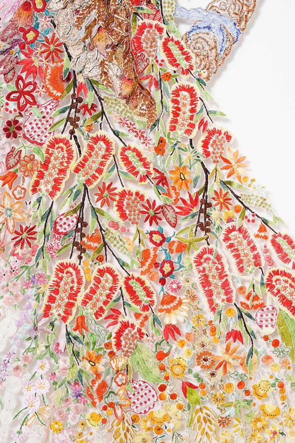 Louise Saxton - Ellis Paradise - detail