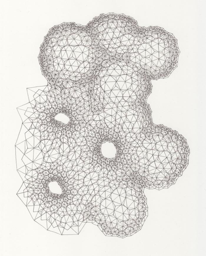 Clint Fulkerson - Gray Nebula 2 - 2012