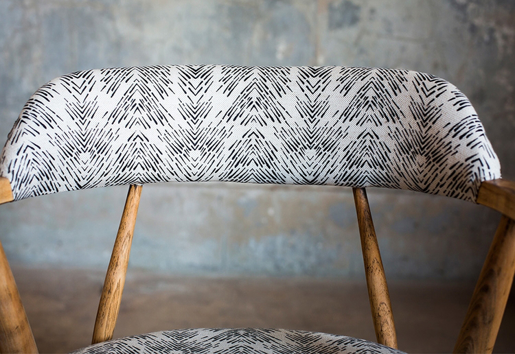 Fayce Textiles - Chair-closeup