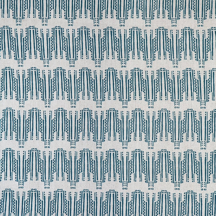 Fayce Textiles - Empire Blue Linen