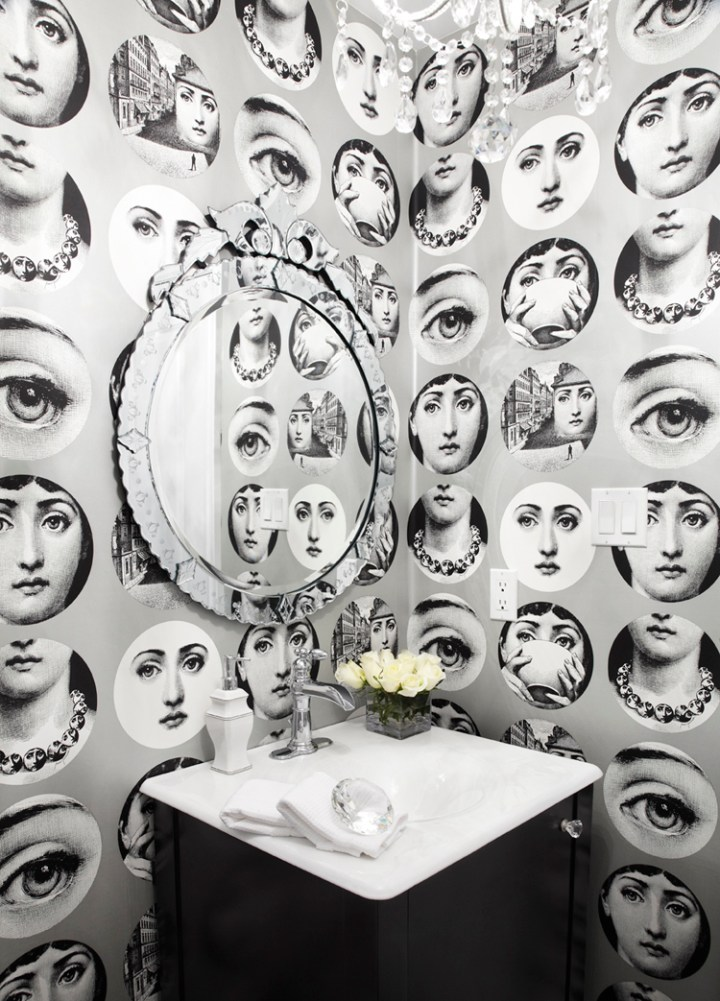 Piero Fornasetti - Wallpaper