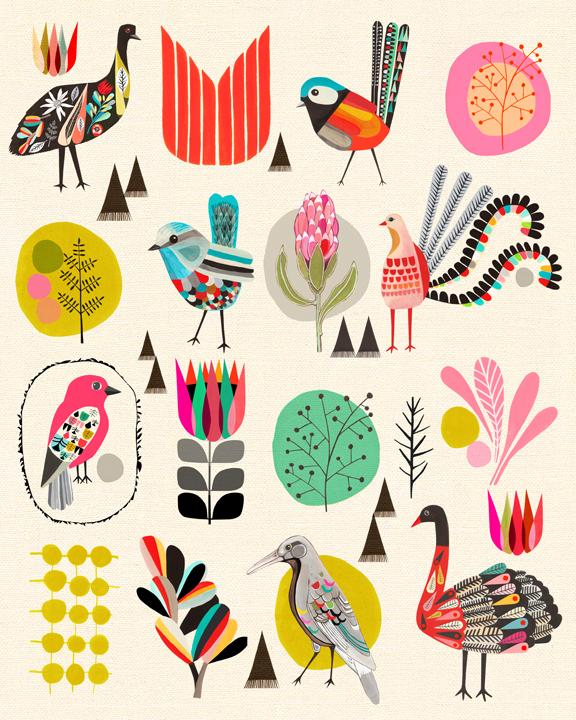 Inaluxe - Birds Of Australia