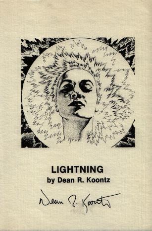 Lightning autographed artwork