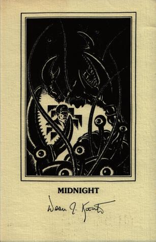 Midnight autographed artwork