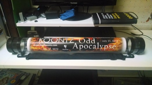 Odd Apocalypse SDCC 2012 Poster Tube (2)