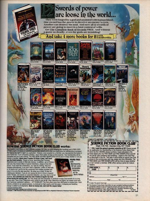 Stragners SFBC ad - Penthouse September 1987