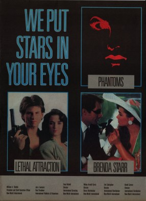 Phantoms Film Ad 1989 2