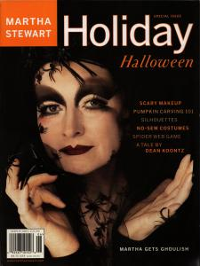 The Scariest Thing I Know - Martha Stewart Holiday October 2000