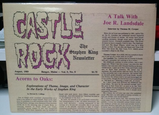 Castle Rock, August 1989, The House of Thunder review