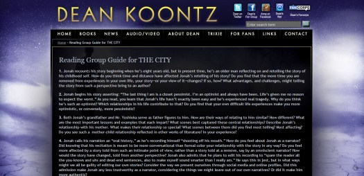 City Reading Guide