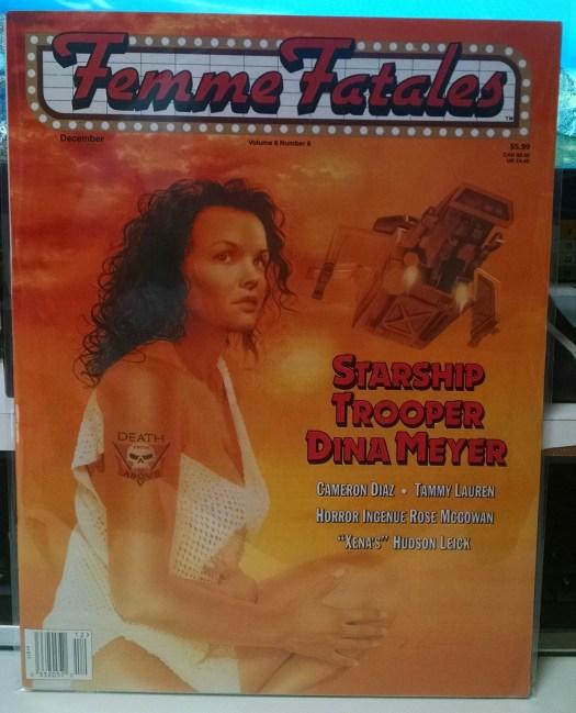 Femme Fatales, December 1997, Rose McGowan article mentioning Phantoms
