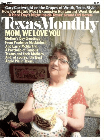 Texas Monthly May 1977