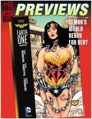 Frankenstein Storm Surge #4 - Previews #327 December 2015 - cover