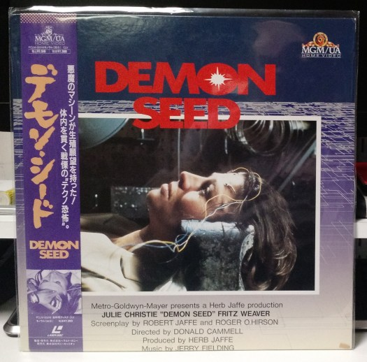 Demon Seed - Japanese Laserdisc