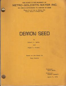 Demon Seed (Screenplay)
