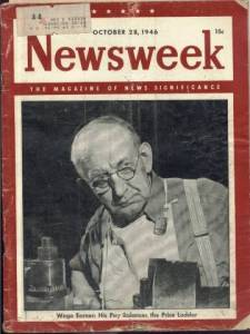 Newsweek Magazine, October 28, 1946 Magazine Back Issue