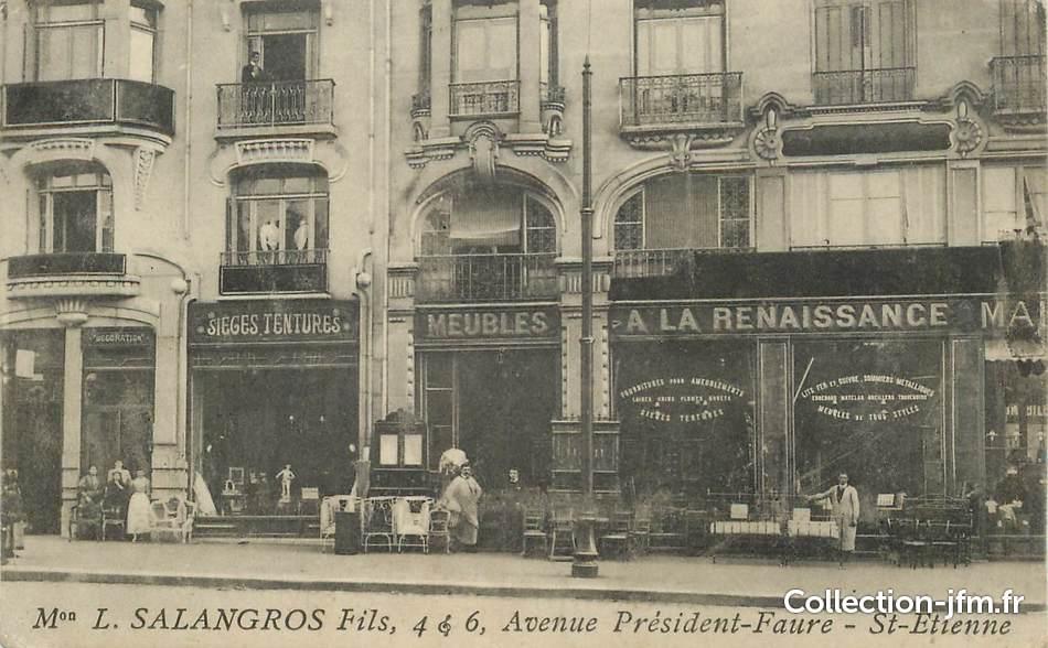 cpa france 42 saint etienne avenue