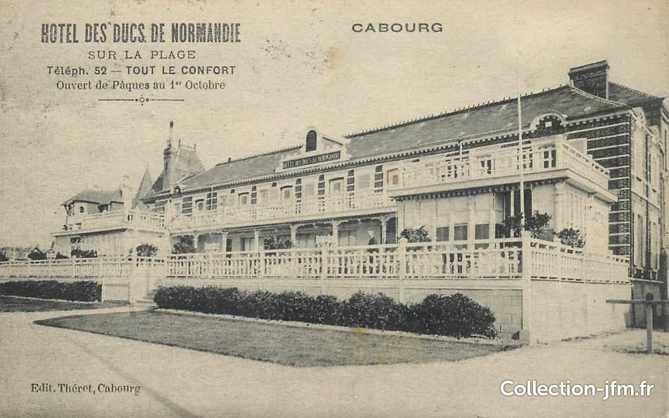Cpa France 14 Cabourg Hotel Des Ducs De Normandie 14