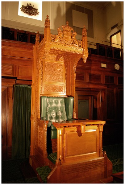Speakers Chair 19990430  Museum of Australian