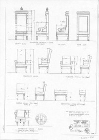 Wingback Chair Construction Plans, woodworking plans and ...