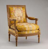 Georges Jacob | Armchair (fauteuil) from Louis XVI's Salon ...