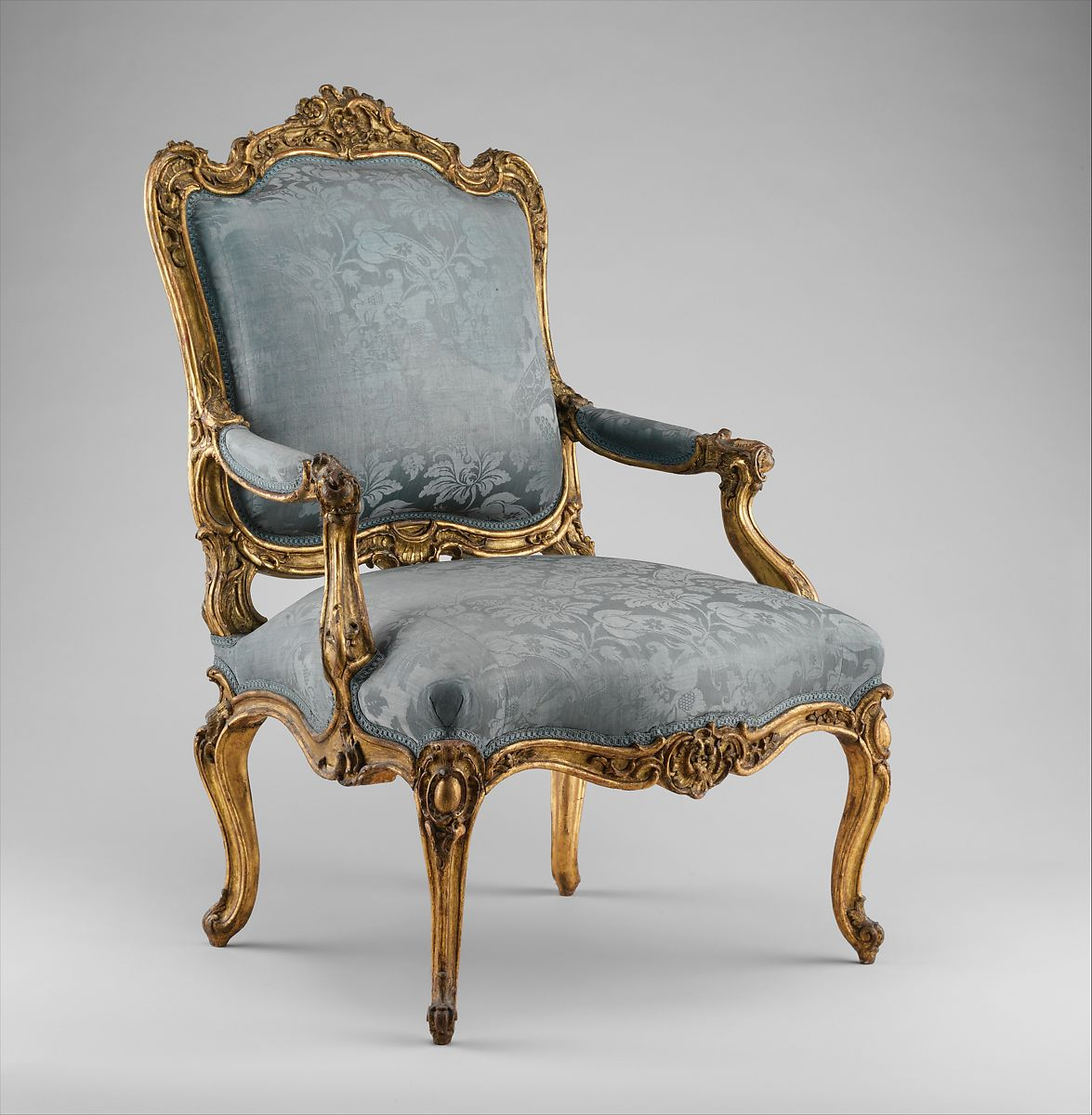 Armchair fauteuil  la reine  Southwestern German  The Met
