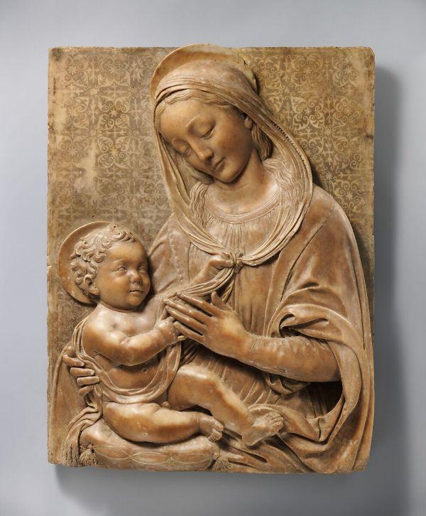 Benedetto Da Maiano Madonna And Child Italian