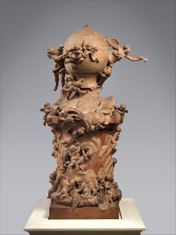 Clodion Claude Michel Model Proposed Monument