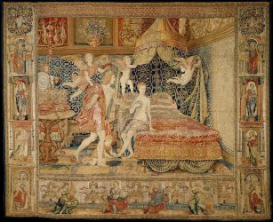 How Medieval and Renaissance Tapestries Were Made Essay The Metropolitan Museum of Art Heilbrunn Timeline of Art History