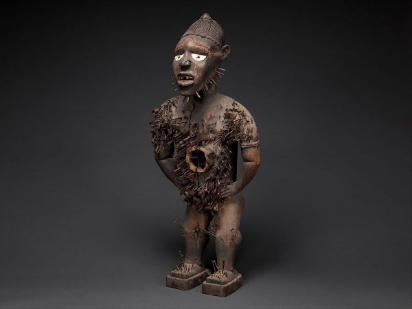 Power Figure Nkisi 'kondi Mangaaka Kongo Peoples