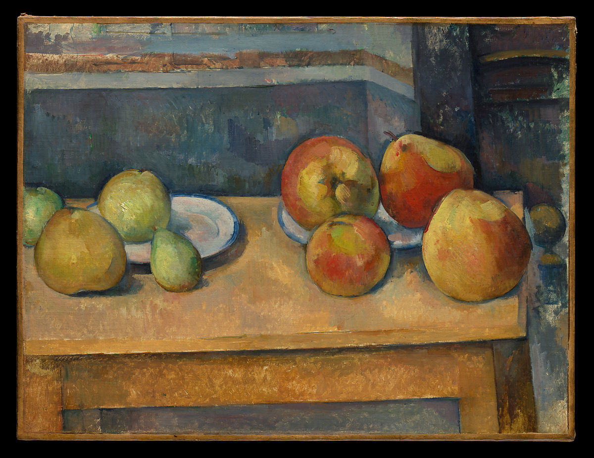 Paul Czanne  Still Life with Apples and Pears  The Met