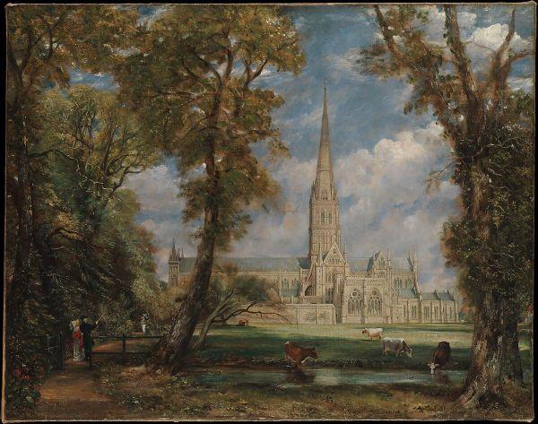 John Constable Salisbury Cathedral Bishop'