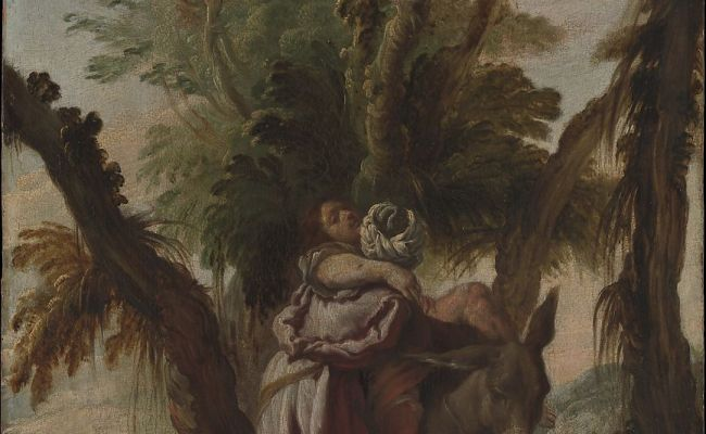 Attributed To Domenico Fetti The Good Samaritan The Met
