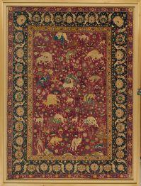 Silk Animal Carpet   The Met