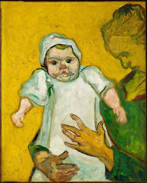 Vincent Van Gogh Madame Roulin And Baby Met